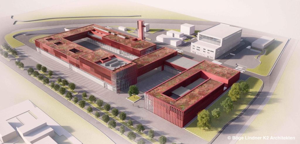 Crisis centrum, Luxemburg (nieuwbouw)